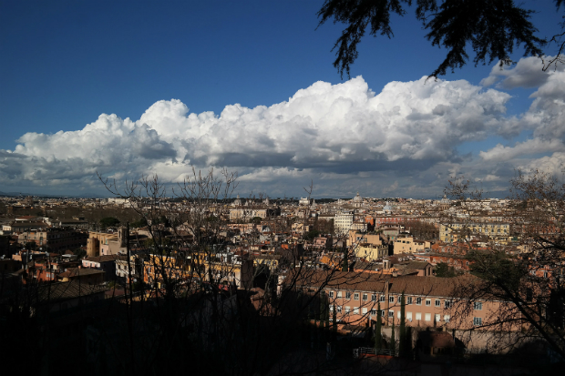 Luna de miel - Roma