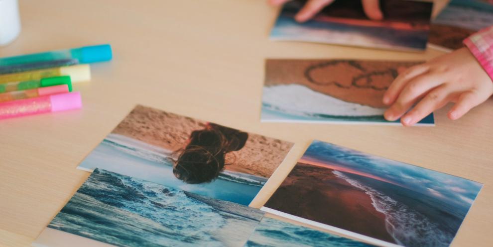 collage con fotos