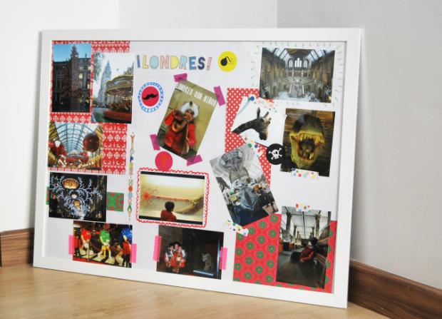 Collage con fotografias