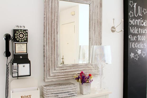Dale un toque vintage a la entrada de tu casa blog hofmann - Decoracion de recibidores y entradas ...