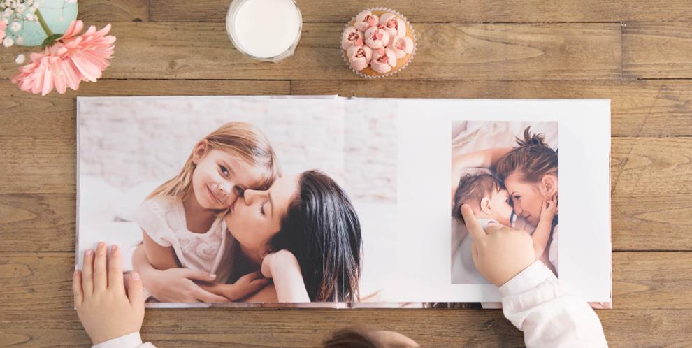 albumes de 180 grados - diferencia con libro de fotos