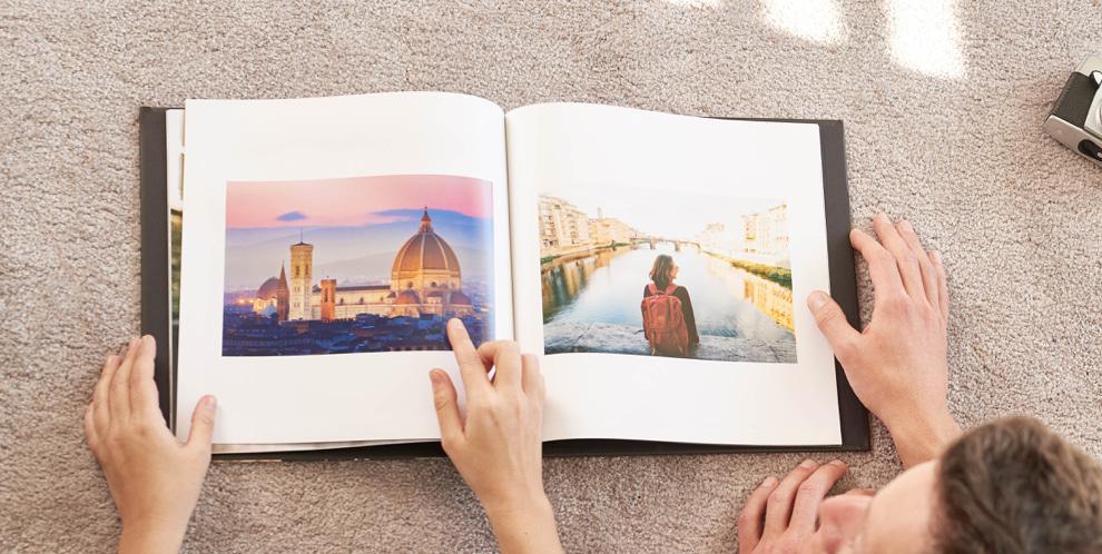 libro de fotos vacaciones