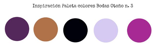 Bodas en otoño paleta colores 3