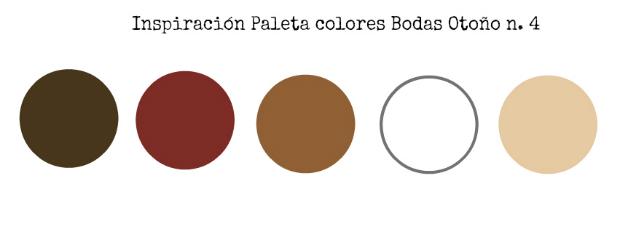 Bodas en otoño paleta colores 4
