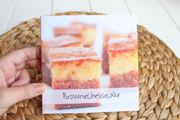 Receta Brownie cheesecake