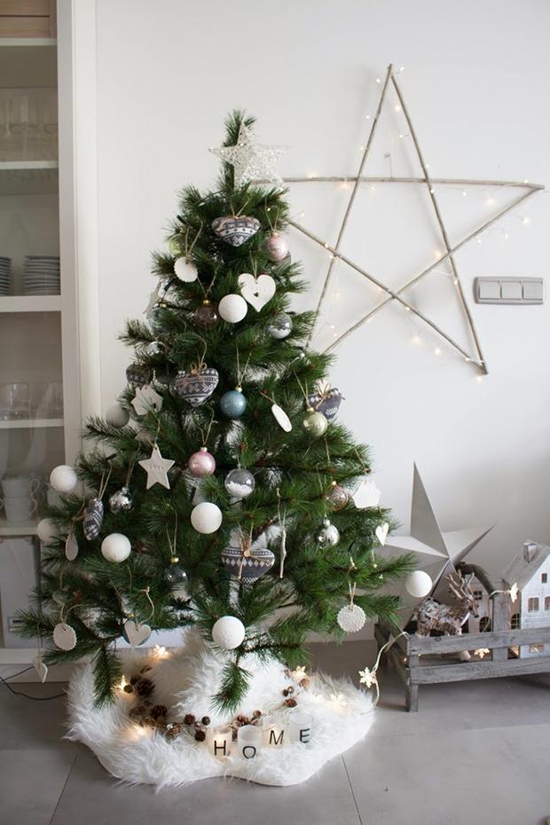árbol-navidad-adornos-blancos