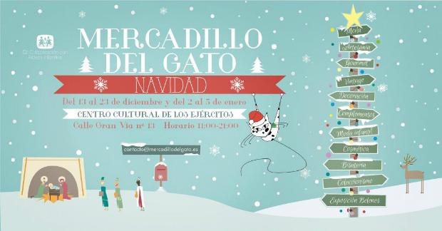Mercadillos de Navidad en Madrid El gato