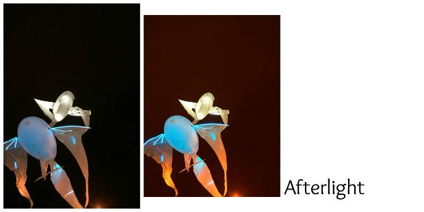 Aplicaciones fotografía Afterlight