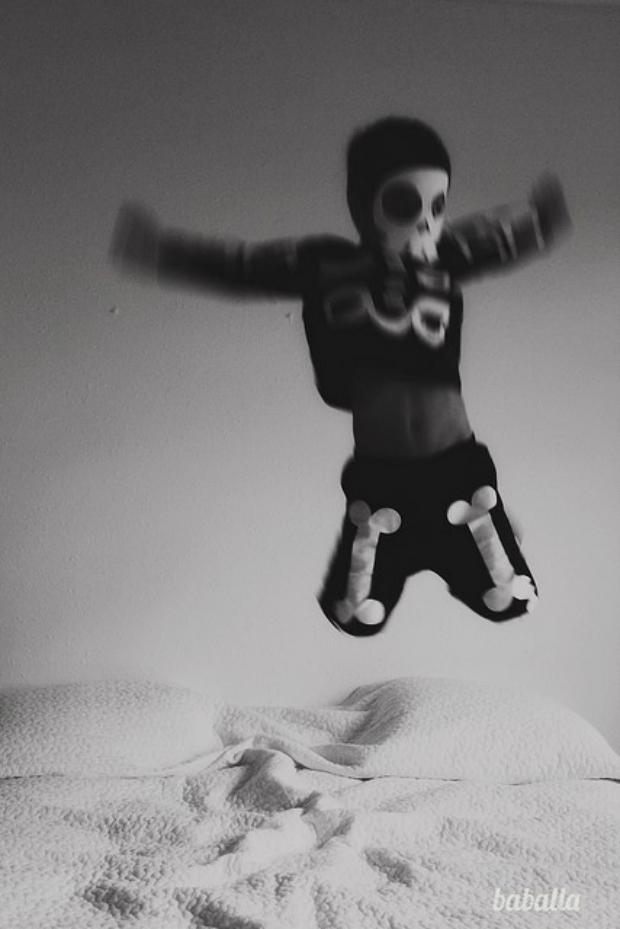 Disfraz esqueleto carnaval