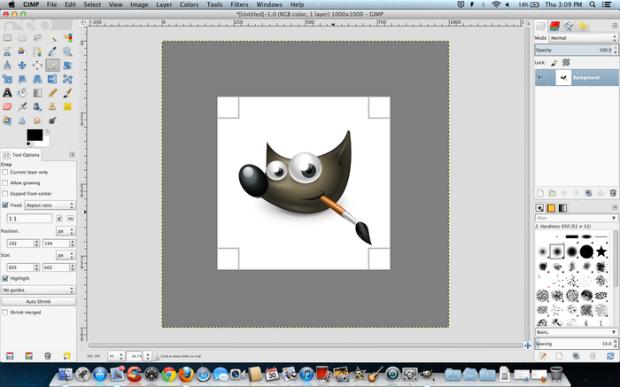 Programas para editar fotografías - Gimp