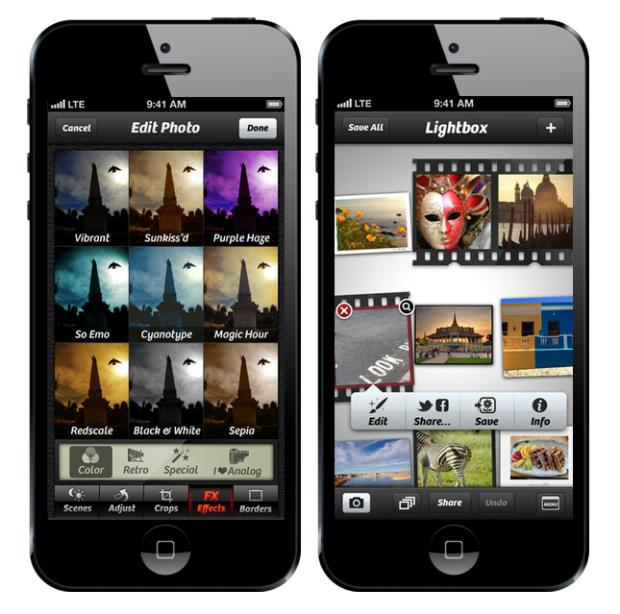 Apps para editar fotos en el móvil VSCOcam