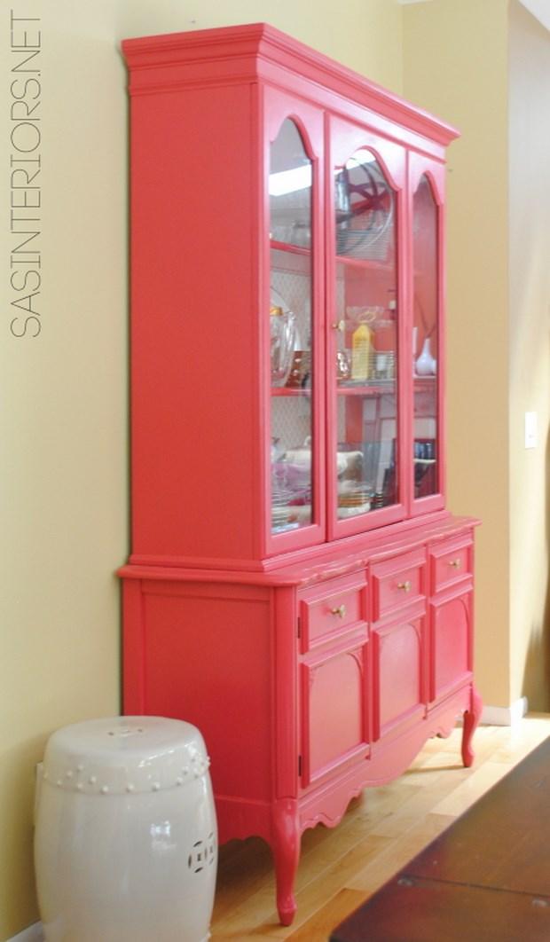Convierte tus muebles antiguos en las estrellas de la casa - Pintar mueble antiguo ...