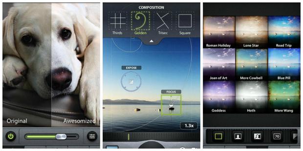 Apps retoque fotos_camera awesome