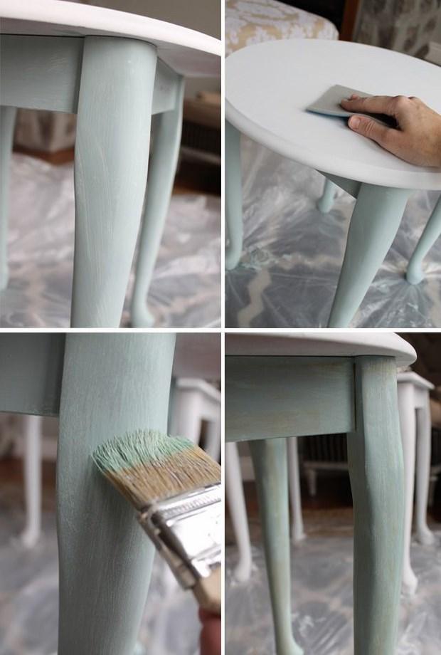 Convertir mueble antiguo en moderno