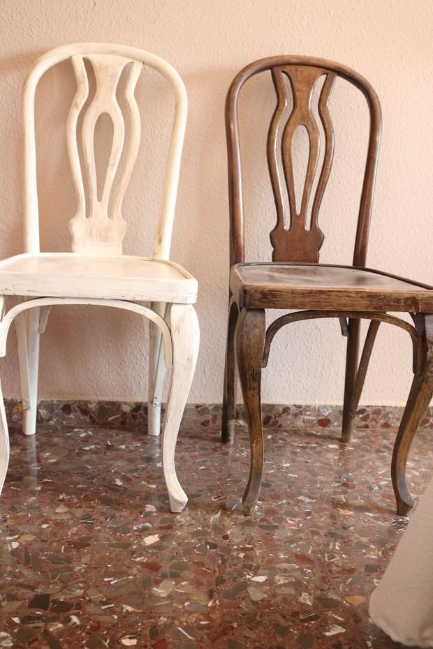 Pintar sillas