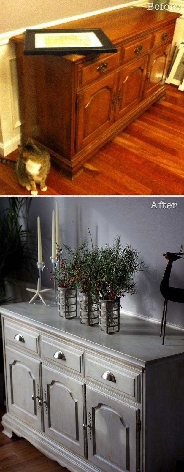 Renovar un mueble viejo