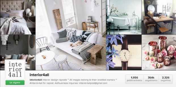 interior4all instagram decoración