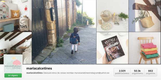 maria calcetines instagram
