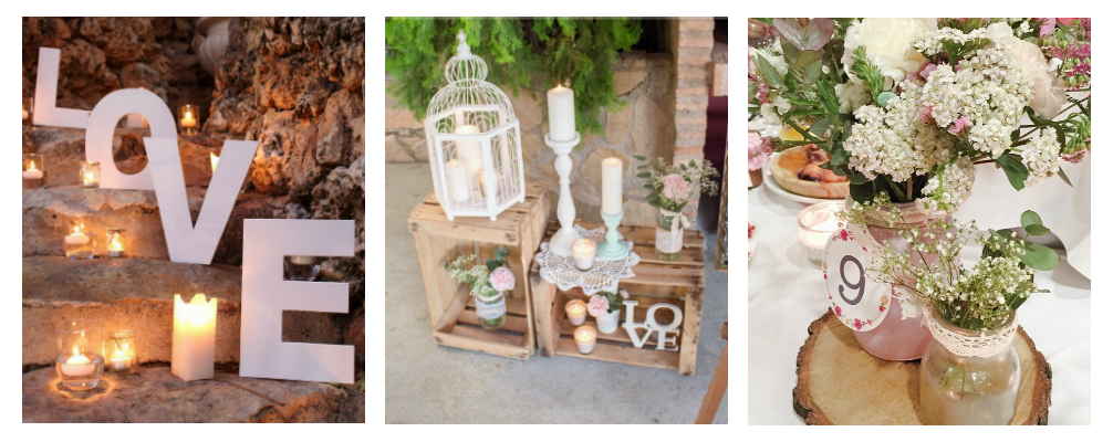 Ideas para decorar bodas sencillas for Como decorar una boda sencilla en casa