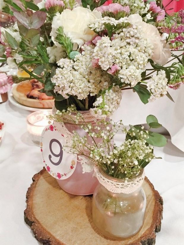 Centros de mesas en bodas