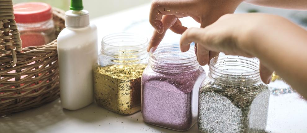 dunas manualidades niños con arena