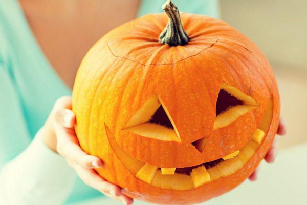 Calabaza en Halloween