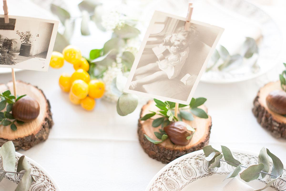 decorar mesa original navidad