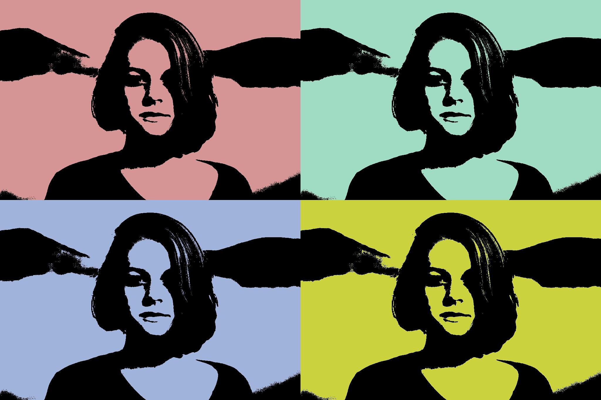 Popart-Collage