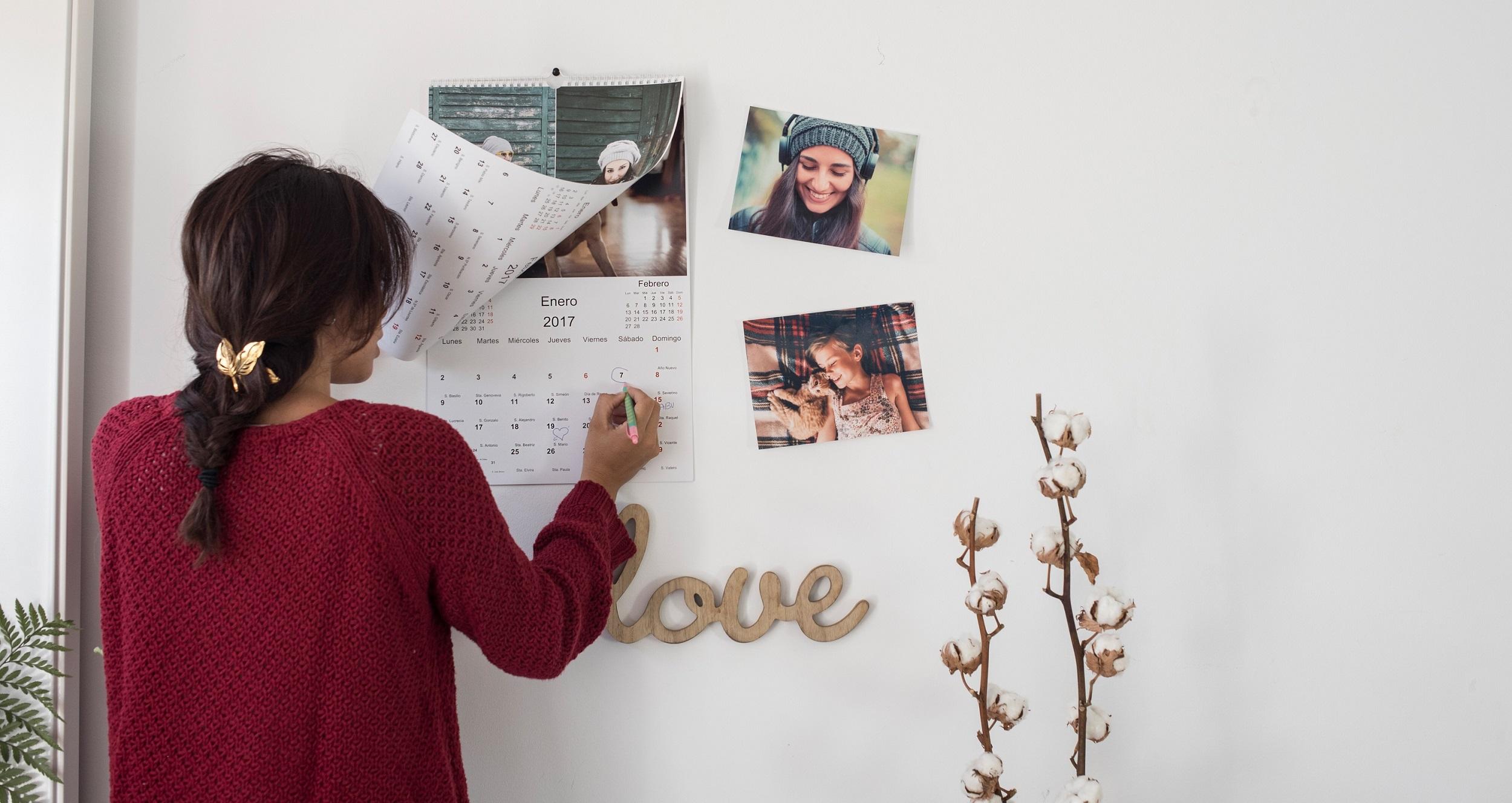 calendario personalizado con fotos Hofmann