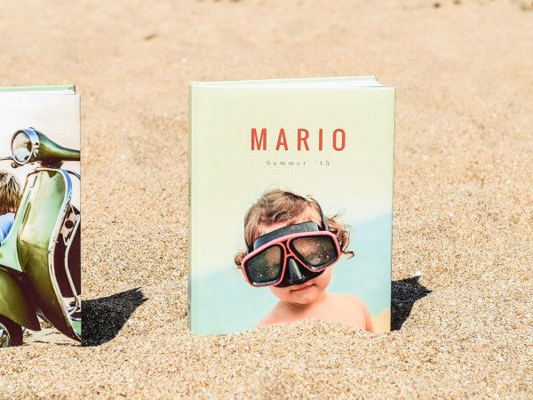 album de fotos verano