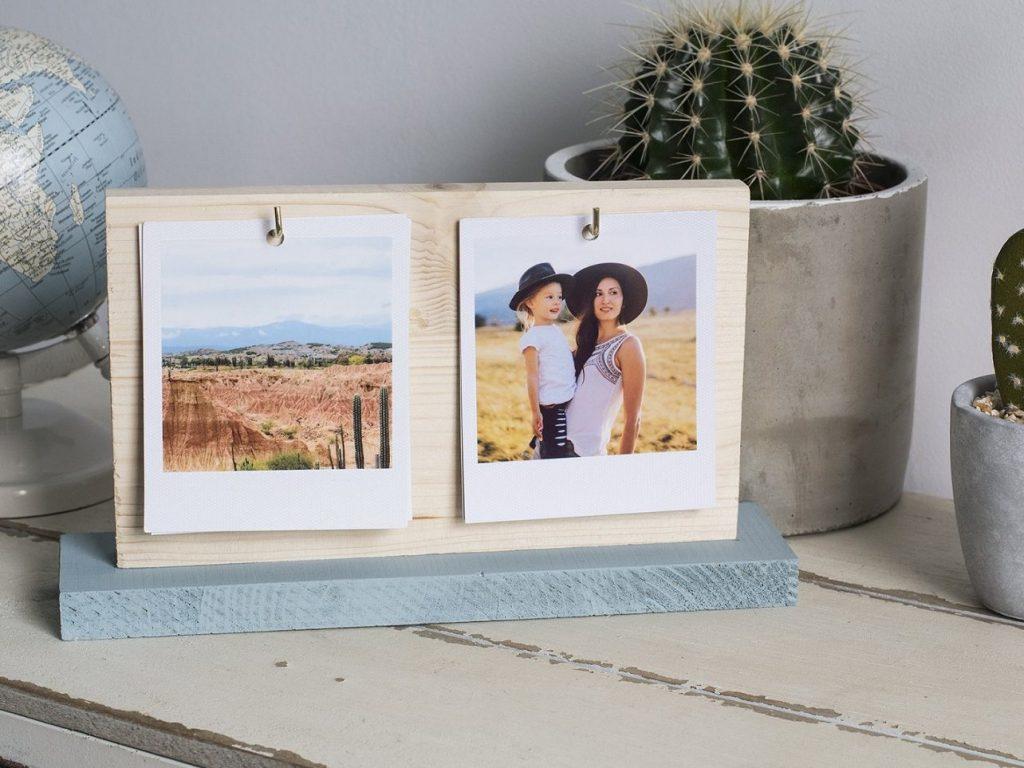 marco de fotos original DIY