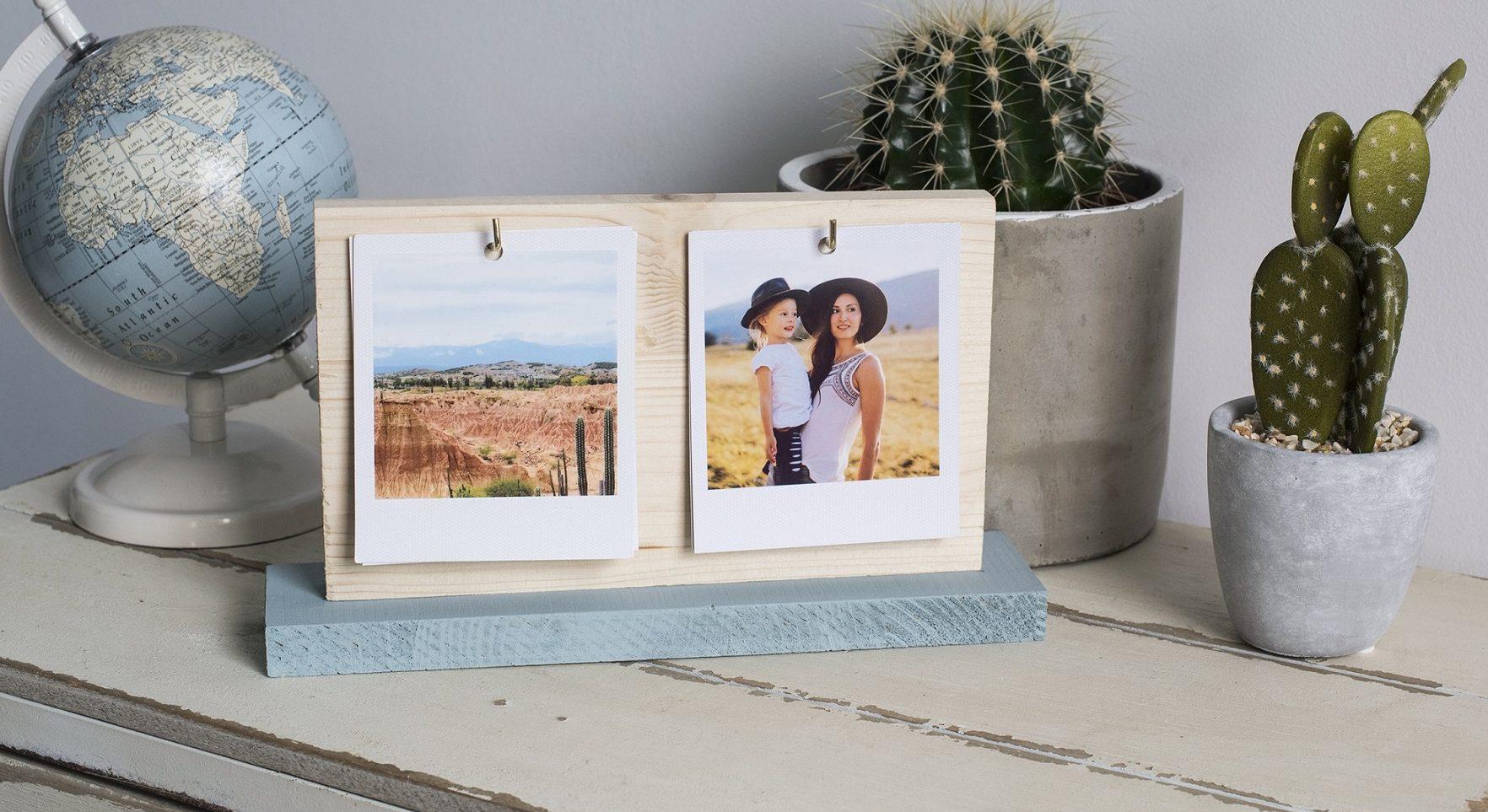 Haz tu propio marco de fotos intercambiable DIY!