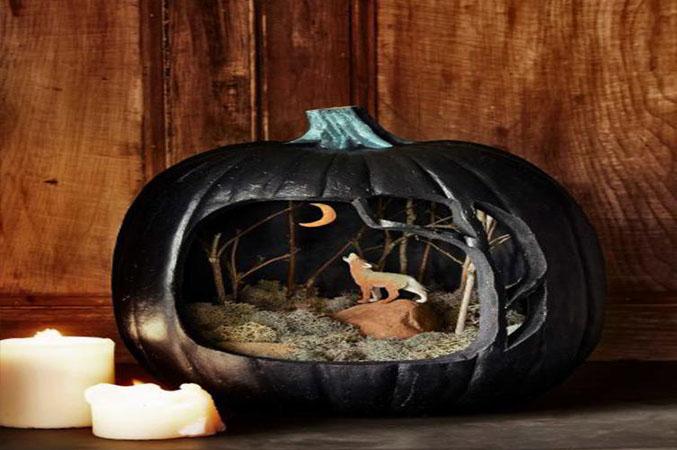 10 ideas para decorar tu casa en halloween - Decoracion calabazas para halloween ...