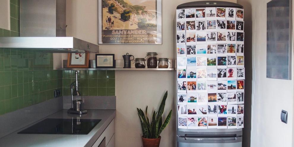 decorar fotos frigorifico