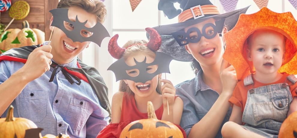 disfraz para halloween familia
