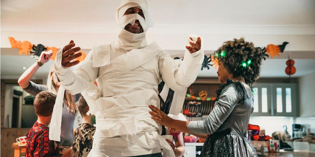 disfraz halloween momia