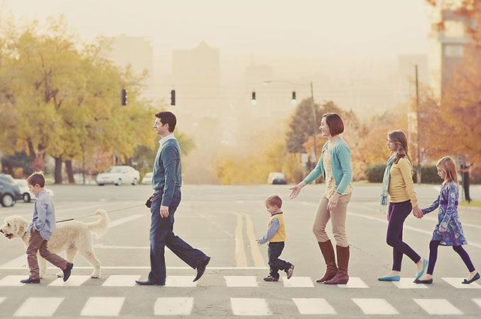 fotos originales familia
