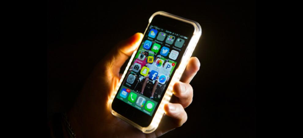 luz led para tu telefono movil