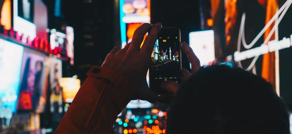 hacer fotos en la oscuridad