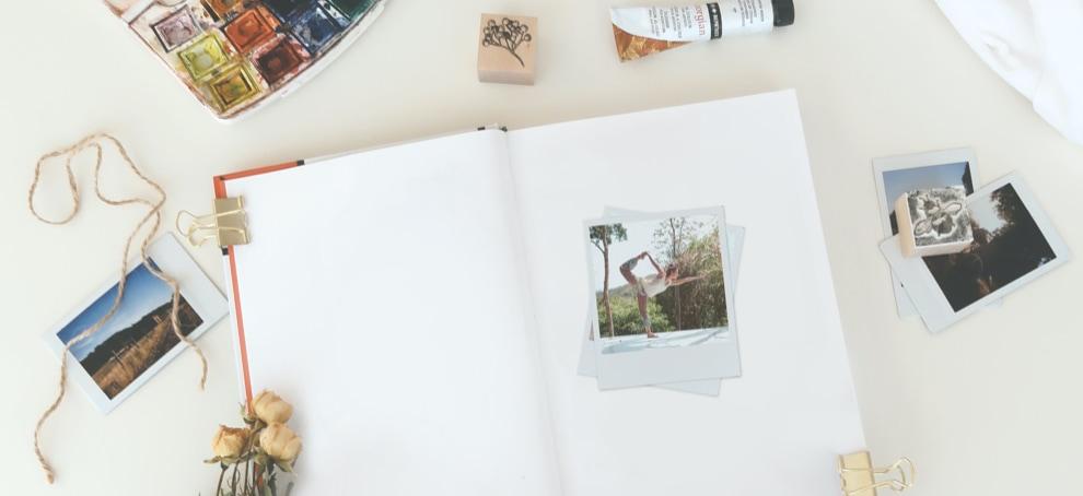 scrapbook como crear tu album de fotos