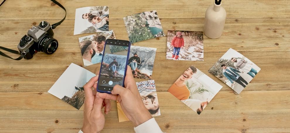 arbol navidad con tus fotos del movil