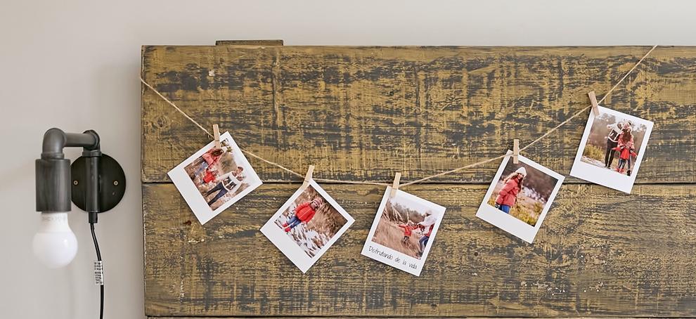 arbol navidad con fotos