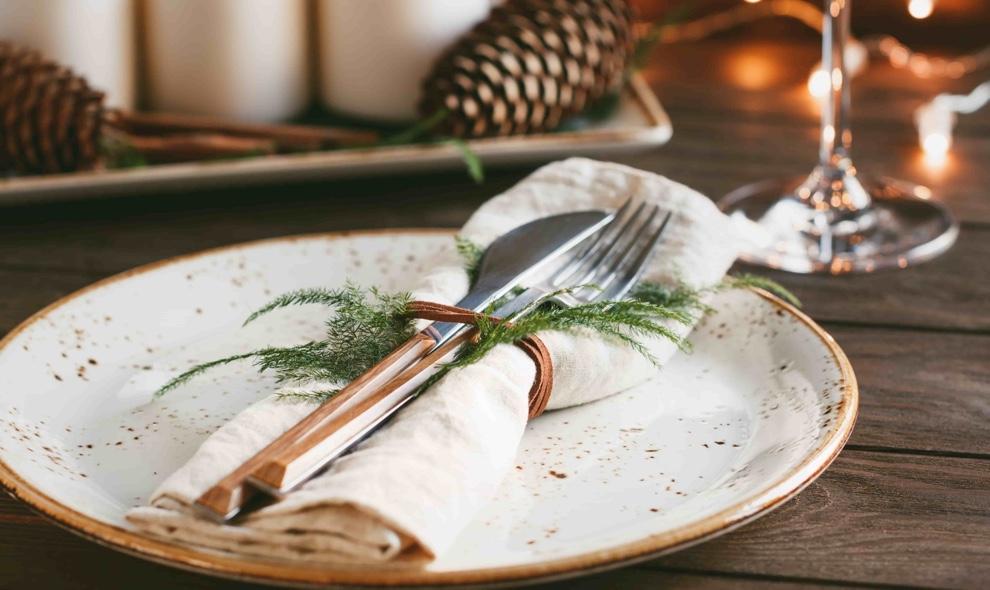 detalles mesa de navidad