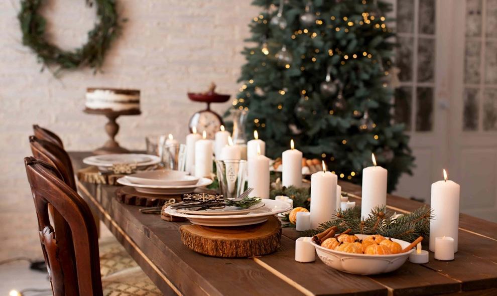 mesas de navidad decoracion