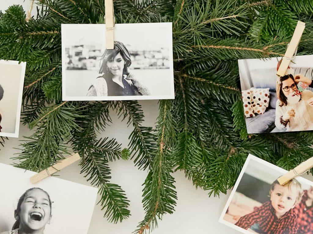arbol navidad con foto