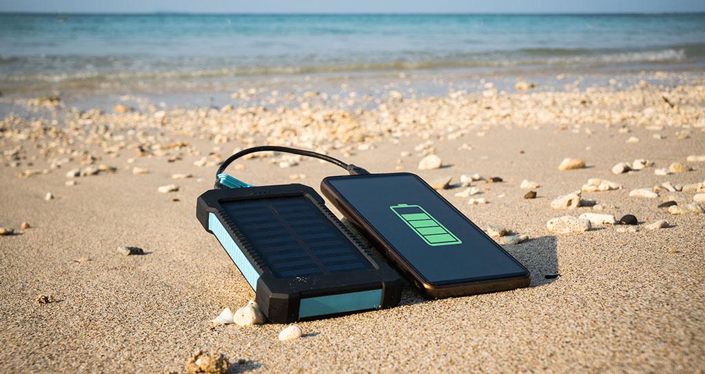 cargador solar - gadgets para el movil