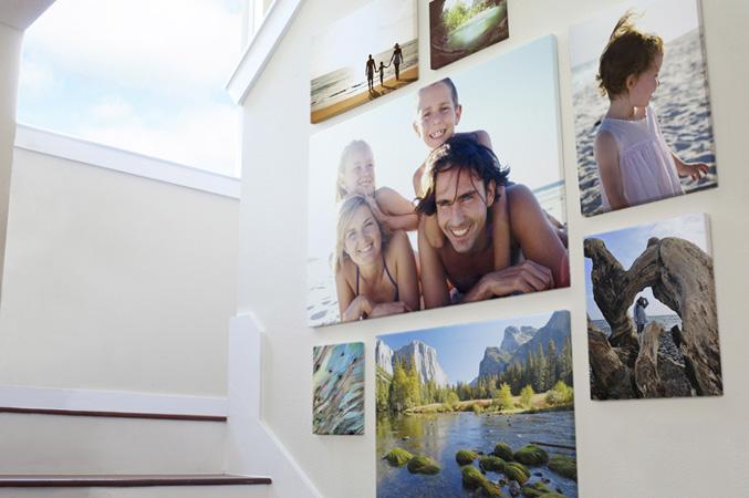 decorar casa con fotos