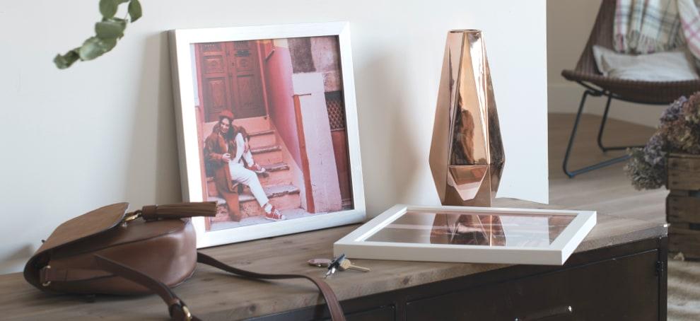 decorar salon con fotos