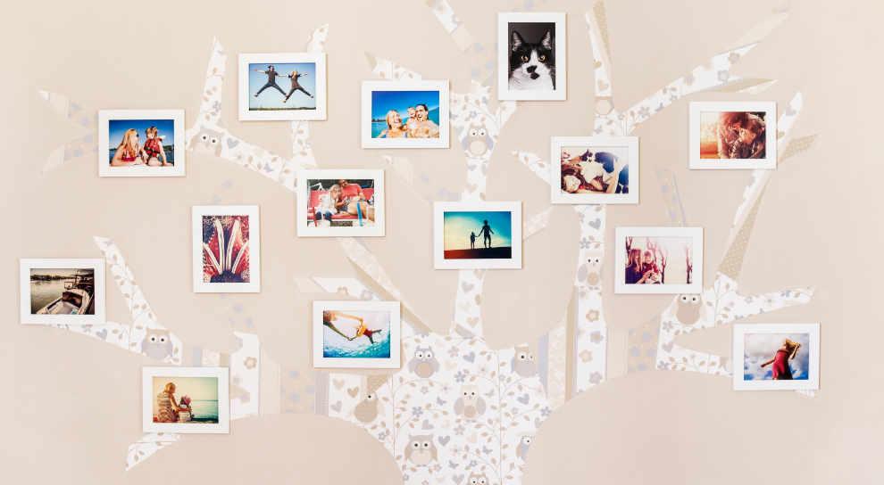 fotos polaroid decoracion