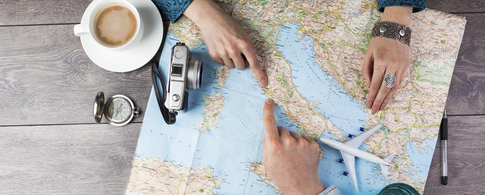 Mapa de Europa - Viajeros